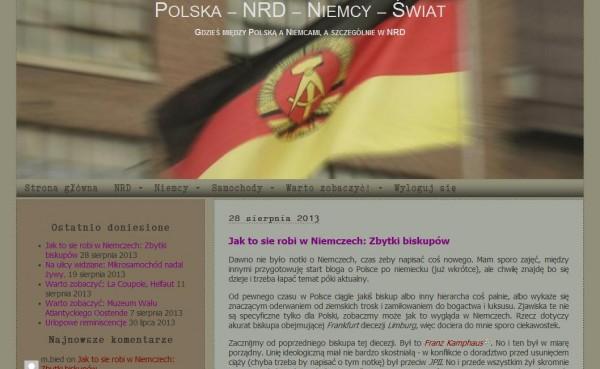 Screenshot http://nrdblog.cmosnet.eu