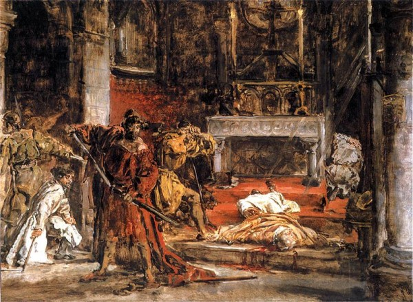 Ermordung von Stanislaus von Krakau, Bild von Jan Matejko